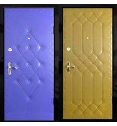 Дверь металлическая дутая ВД6