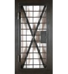 Стальная решетчатая дверь РД-3