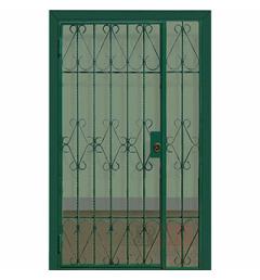 Стальная решетчатая дверь РД-8