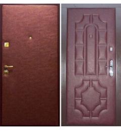 Дверь входная металлическая винилискожа - В1